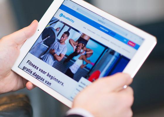 Een nieuwe adaptieve website voor HealthCity